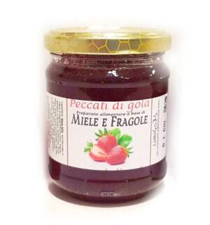 Miele e Fragola 250g - TESORI DELLE API